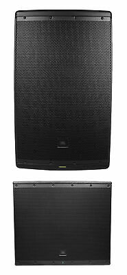 "JBL EON615 15"" 1000w Powered DJ PA Speaker System+18"" Subwoofer Sub w/Bluetooth"
