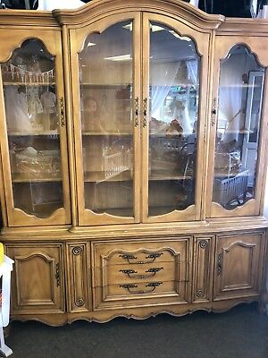 Bookcase showcase sideboard Display cabinet mahogany Great condition