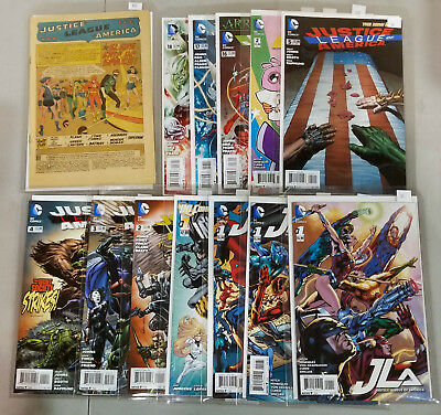 Justice League Comic Book Lot 60+ Issues JLA JSA DC New 52 Jim Lee