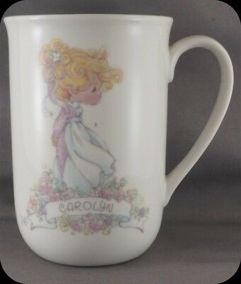"Precious Moments Personalized Mug ""Carolyn"""