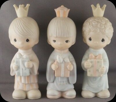 Precious Moments Figurine Wee Three Kings E-5635 In Original Box