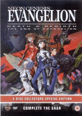 Neon Genesis Evangelion - Death And Rebirth/End of Evangelion [3 d... -  CD LAVG