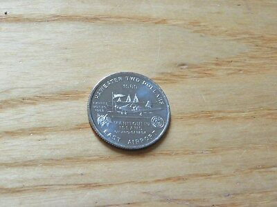 1989 Manitoulin $2 trade dollar coin Ontario Canada East Airport Airplane