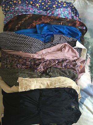 10x Vintage Dresses Wholesale Job Lot Bundle