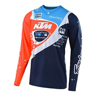 Troy Lee Designs 2019 SE Pro Jersey KTM Neptune Navy/Orange Mens All Sizes