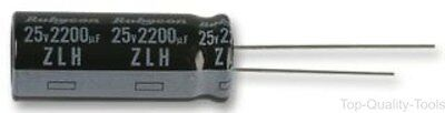 5 X Electrolytic Capacitor, Miniature, 100 µF, 10 V, ML Series, ± 20%, Radial Le