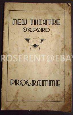 1936 ROBERT DONAT in Red Night at the New Theater Oxford - Programme