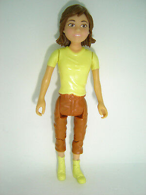 Vintage Polly Pocket Style Girl Action Figure Possibly April O'neil From Turtles