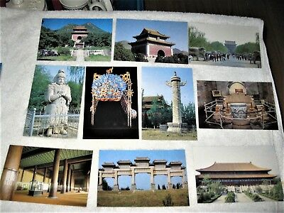 2 Sets of 10 Unused New China Chinese Postcards Ming Tombs & Guilin - Dreamland
