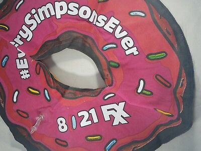 Simpsons Inflatable Donut SDCC San Diego Comic Con #everysimpsonsever FXX