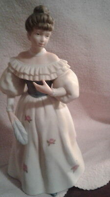 HOME INTERIORS HOMCO Porcelain Lady Figurines BELLA AT THE BALL #1463