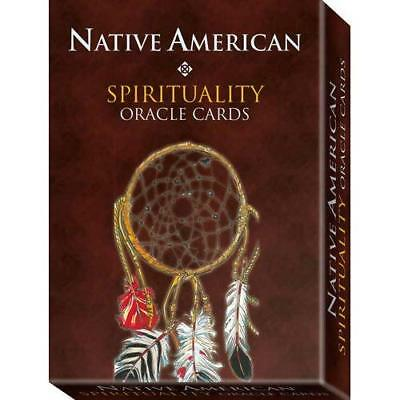 Native American Spirituality Oracle Cards: 32 full colour cards & 128pp guideboo