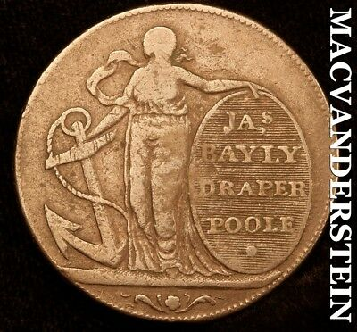 Great Britain: 1795 Half Penny Conder Token - Dorsetshire ; Poole ; Dh 6 -#b6640