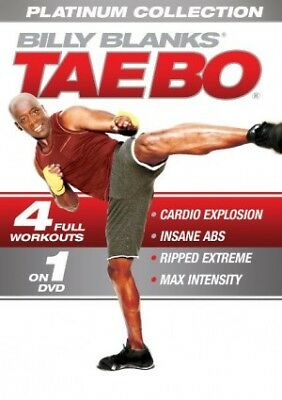 Billy Blanks Tae Bo EXERCISE DVD Tae Bo Platinum Collection 4 Workouts