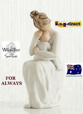 FOR ALWAYS Demdaco Willow Tree Figurine By Susan Lordi NEW IN BOX