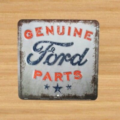 Genuine Ford Parts Nostalgia Sign 12 x 12 sign with vintage style finish NEW
