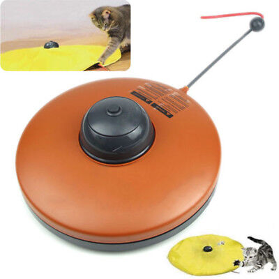 Fashion Pet Dog Toy Undercover Cats Meow Play Fabric Moving Mouse For Cat Funny