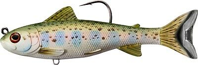 Live Target Swimbait TRS168MS718 Trout Silver Violet 6.5 Inch