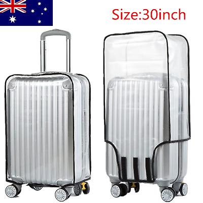 Luggage Protector Covers Suitcase Dust Cover Transparent Clear Protective Cover