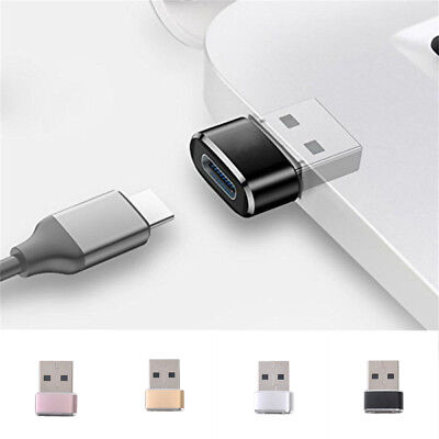 USB 3.0 (Type-A) Male to USB 3.1 (Type-C)Female Converter Adapter Mini Connector