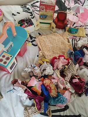 Huge Joblot Of Vintage  Sindy Items
