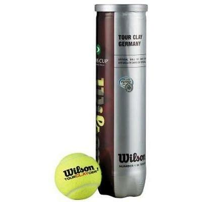 Wilson Tour Clay Germany DTB 18 x 4er Dose