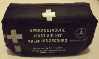 Mercedes Slk Genuine Complete First Aid Set Unused In Zip Case