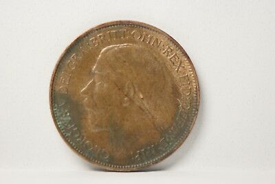 Great Britain, 1924 1/2 Penny, KM809, About UNC, No Reserve,               mab58