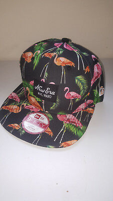 A61 NEW ERA 9FIFTY TROPICAL FLAMINGO SNAPBACK Baseball Cap * MEDIUM/LARGE