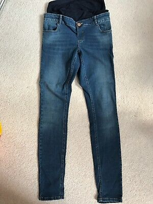 Asos Maternity Over The Bump Jeans Size 10
