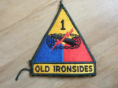 Aufnäher Patch Abzeichen US-Army USA  Old Ironsides