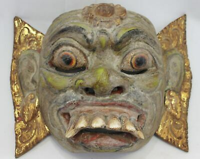 Balinese Mask Barong Raksasa Demon Hand Carved Indonesian Bali Wall art