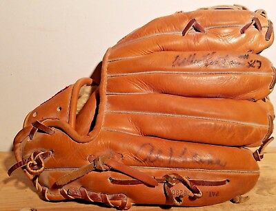 SIGNED! Mickey Mantle Rawlings XPG6 Heart of the Hide HOH Vintage Baseball Glove