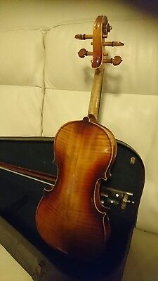 Early 1900's Antique * 3/4 Size Violin * German Factory Instrument * Cased
