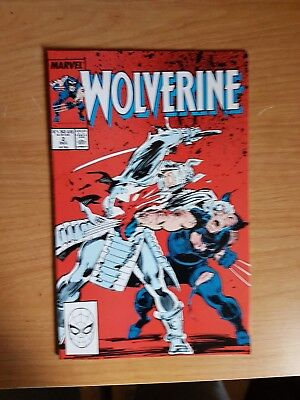Wolverine #2 Marvel Dec 1988 Vf Combine Shipping Rates
