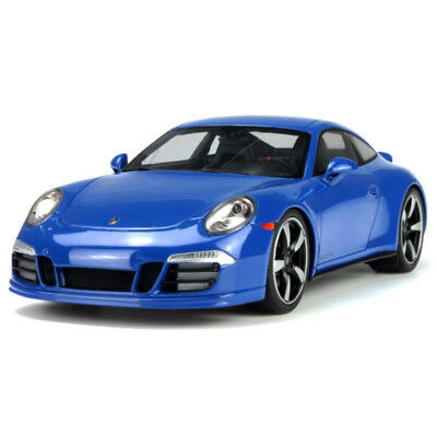 Porsche 911 991 Carrera GTS Club 2015 Blue 1/18 - WAX02100006 GT SPIRIT