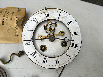 French Front Escapement Clock Movement S. Marti, Medaille for Parts / Repair ML8