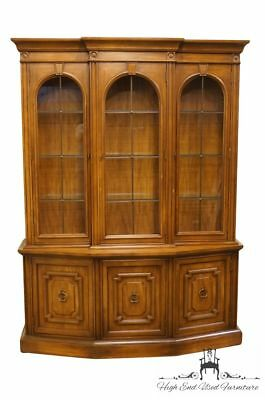 """DREXEL HERITAGE Adano Collection Italian Neoclassical 78"""" China Cabinet 468-4..."""