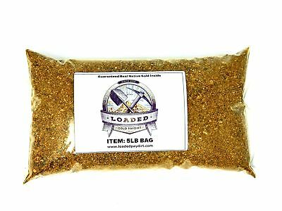 Gold Paydirt 5 lbs 100% Unsearched and Guaranteed Added GOLD! Panning