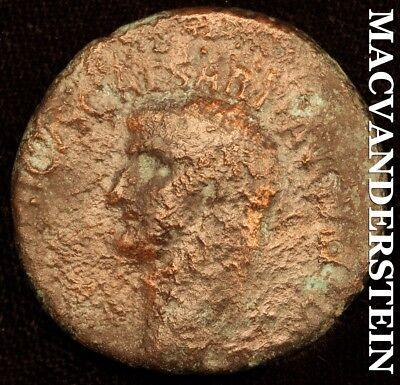 Roman Imperial- 15B.c.-19A.d. Germanicus Caesar, Ae As-  #c1038