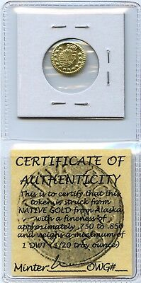New OldWestGold California Tokens First Strikes / R7 / LIMITED STRIKE OF ONLY 7!