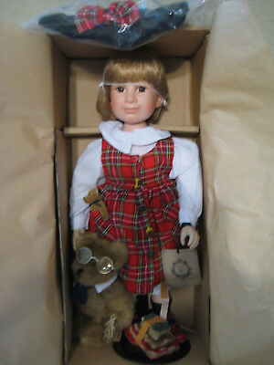 """Boyds Yesterdays Child """"CHRISTA with HARVEY"""" Bear, COA, MINT in Box, NEW, $80"""