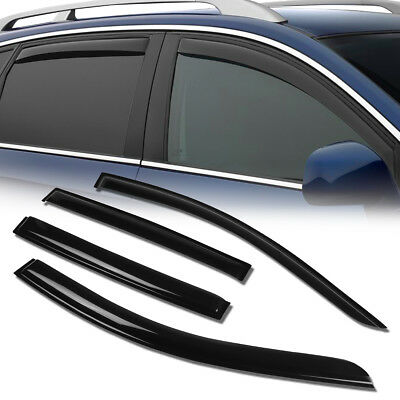 For 12-17 Sonic T300 Smoked Tint Window Visor Vent Rain Shade Deflector Guard