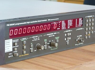 TOP: Philips PM6654C Programmable High Resolution Timer/Counter 1,5Ghz mit TCXO