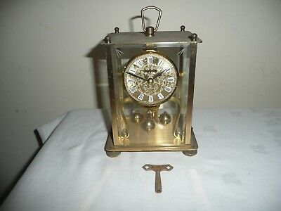 Vintage Kern Lantern Type Anniversary Clock, K.u.S . - P 1 Movement, Restoration