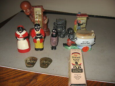 Collection Of Black Americana Household Items 1930s-1950s