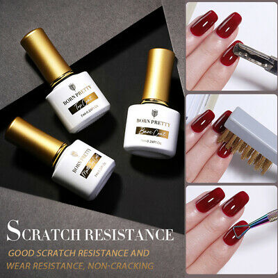 LEMOOC Base Matte Top Coat UV Gel Vernis à ongles Soak Off UV/LED Nail Primer