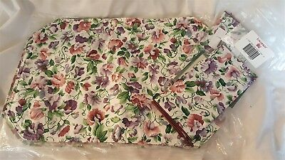 Longaberger Set of 4 Placemats & 4 Napkins Floral SWEET PEA NEW