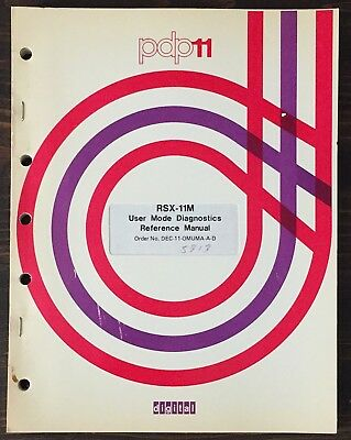 Digital DEC PDP-11 RSX-11M User Mode Diagnostics Reference Manual 1976