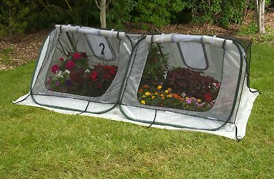 Flowerhouse StarterHouse 8 Ft. W x 4 Ft. D Mini Greenhouse